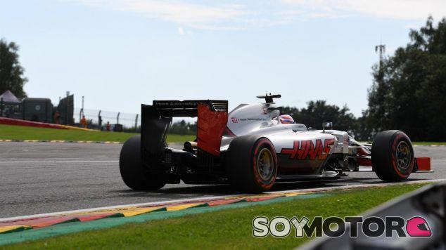 Grosjean se ha quejado airosamente por la radio por el equilibrio del coche - LaF1