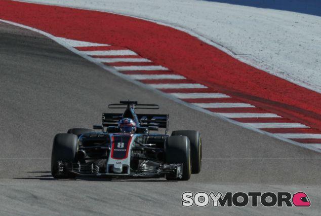 Grosjean en Austin - SoyMotor.com