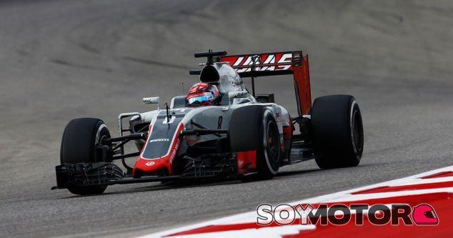 Grosjean durante la carrera en Austin - LaF1