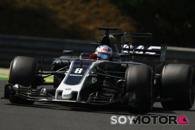 Haas en el GP de Hungría F1 2017: Viernes - SoyMotor.com