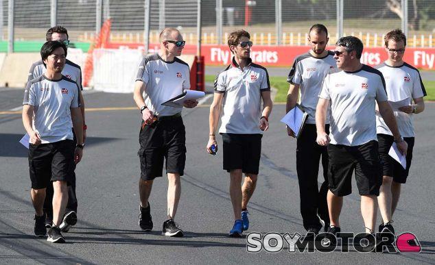 Romain Grosjean en Melbourne - LaF1