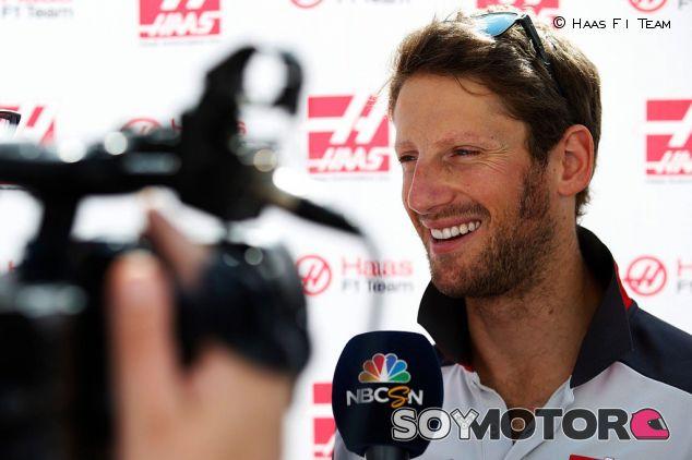 Grosjean está encantado con la cultura americana - LaF1
