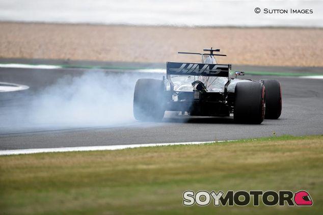 Romain Grosjean en Silverstone - SoyMotor