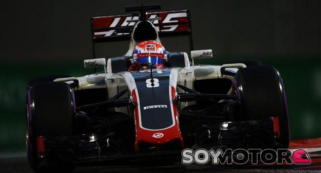 Grosjean durante un Gran Premio esta temporada - SoyMotor