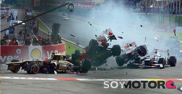 """Grosjean, sobre el incidente con Sainz: """"Me recuerda a Spa 2012"""" - SoyMotor.com"""