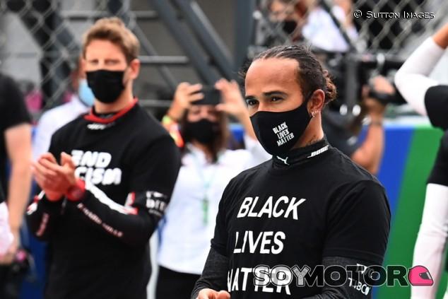 "Hamilton: ""El accidente de Grosjean me hizo pensar en el futuro"" - SoyMotor.com"