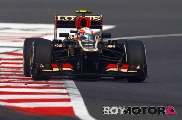 Romain Grosjean en la India - LaF1