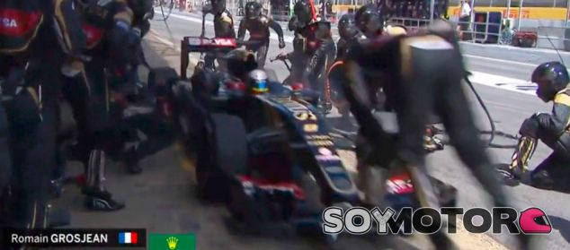 Momento del accidente - LaF1