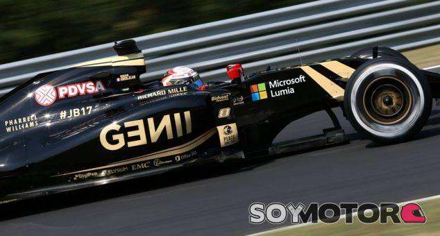 Romain Grosjean en el pasado Gran Premio de Bélgica - LaF1