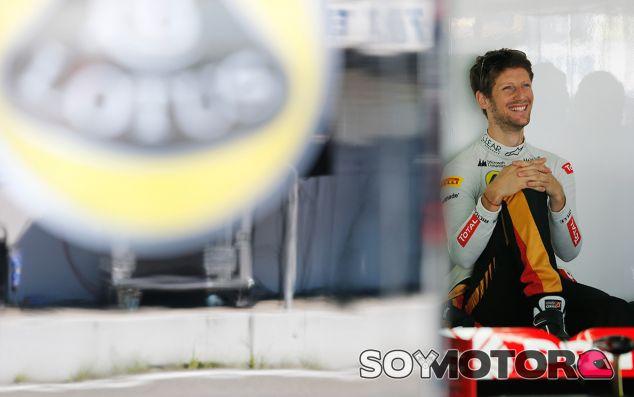 Lotus quiere quedarse con Romain Grosjean en 2015 - LaF1.es