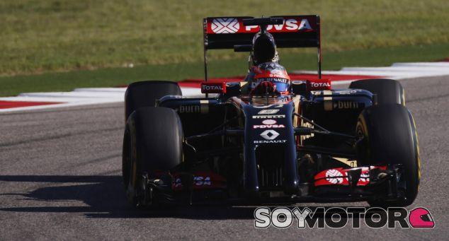 """Grosjean piensa en positivo: """"El E22 cada vez es más divertido de pilotar"""" - LaF1.es"""