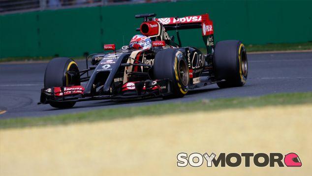 Romain Grosjean durante el Gran Premio de Australia - LaF1
