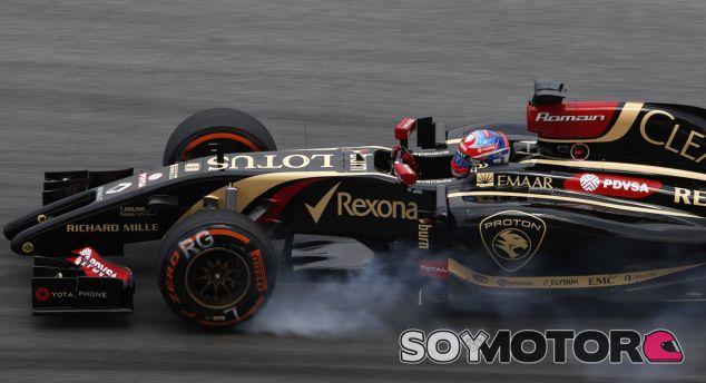 Lotus en el GP de Malasia F1 2014: Viernes