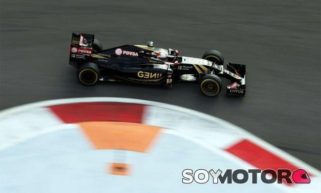 Romain Grosjean en Rusia - laF1
