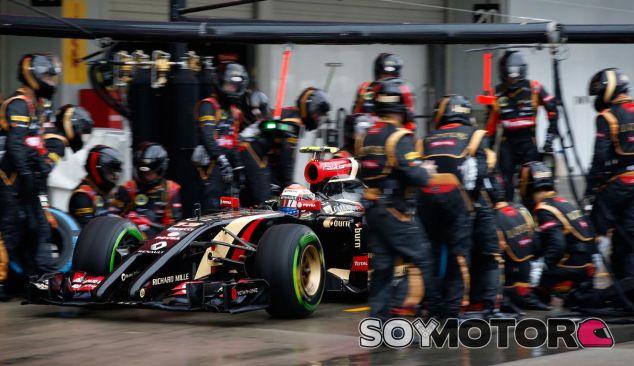 Lotus en el GP de Japón F1 2014: Domingo