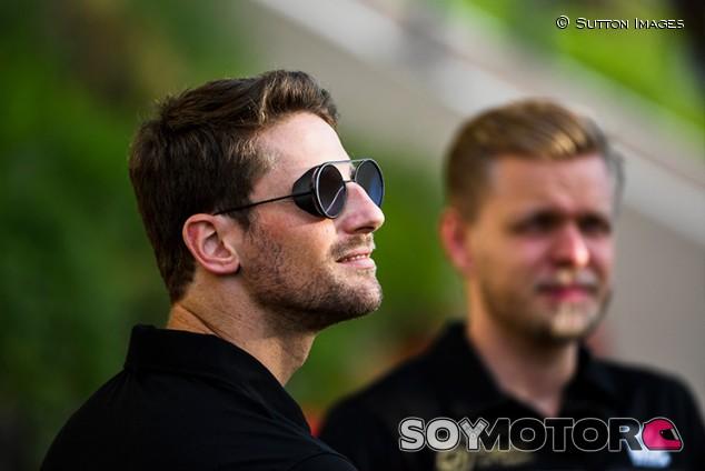 Magnussen y Grosjean defienden que tienen una buena relación - SoyMotor.com