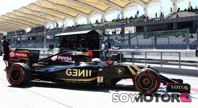 Romain Grosjean en el pasado Gran Premio de Malasia - LaF1