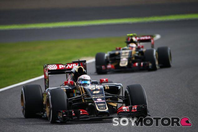 Tras anunciarse la marcha de Grosjean, Lotus espera lograr otro buen resultado en Rusia - LaF1