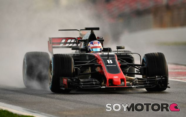 "Grosjean: ""El neumático intermedio se destruye demasiado pronto"" - SoyMotor"