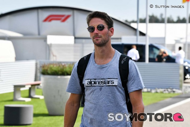 Romain Grosjean en el GP de Alemania F1 2019 - SoyMotor.com