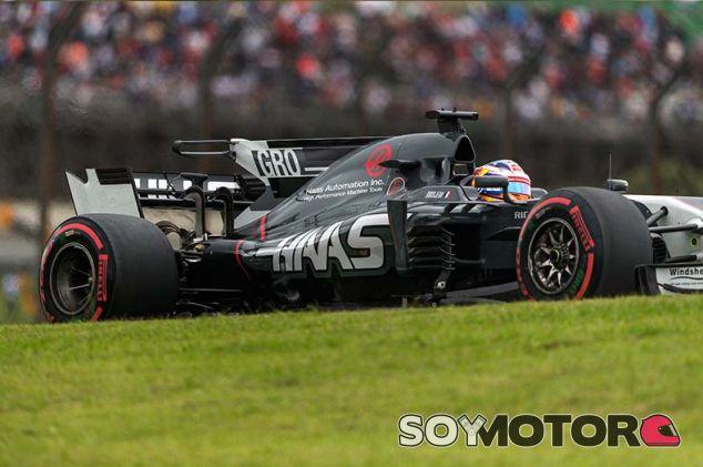 Romain Grosjean en Brasil - SoyMotor.com