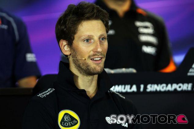 Grosjean tiene decidido su futuro, pero no ha querido hacerlo público - LaF1