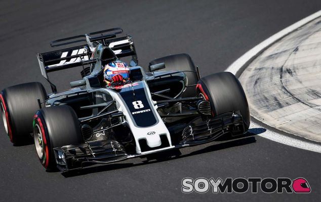 Haas en el GP de Hungría F1 2017: Sábado - SoyMotor.com