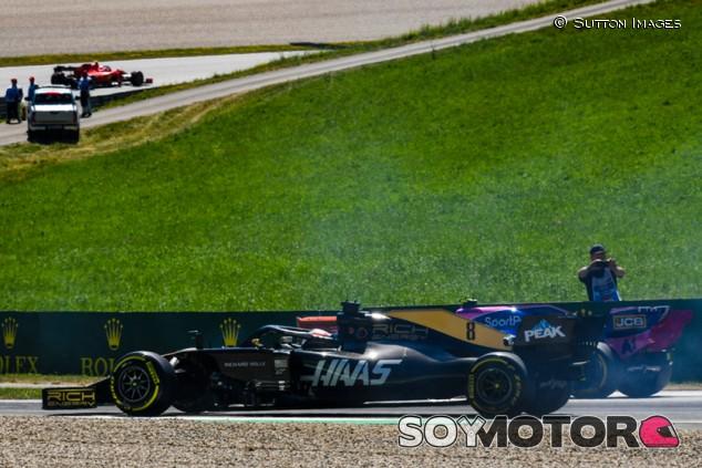 """Grosjean: """"Necesitamos trabajar en las salidas"""" - SoyMotor.com"""