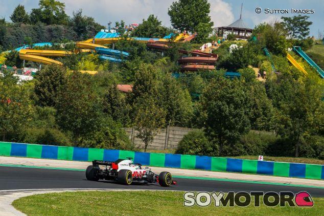 Romain Grosjean en Hungría - SoyMotor.com