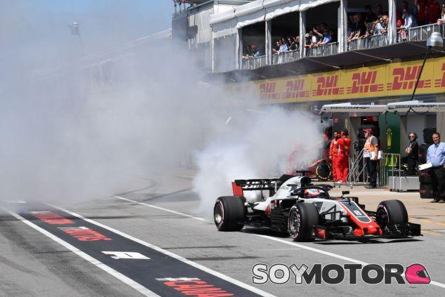 Rotura del motor de Romain Grosjean –SoyMotor.com