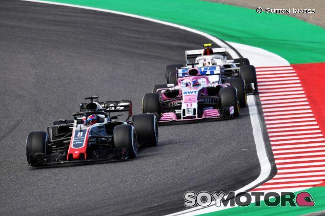 Grosjean, Pérez y Leclerc en Suzuka - SoyMotor.com
