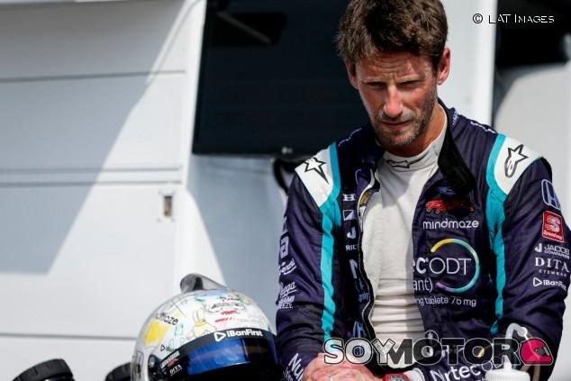 """Grosjean y su accidente: """"Me vienen flashbacks a la cabeza"""" - SoyMotor.com"""