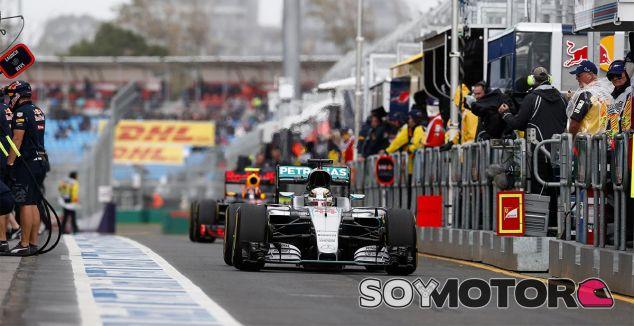Lewis Hamilton en una imagen de archivo del GP de Australia - LaF1