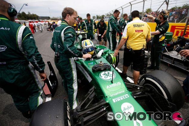 Marcus Ericsson en la parrilla del Gran Premio de España - LaF1