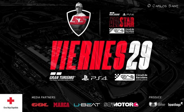 Gran Turismo All Star: ¡tarde de lujo, simracing benéfico con Sainz! - SoyMotor.com