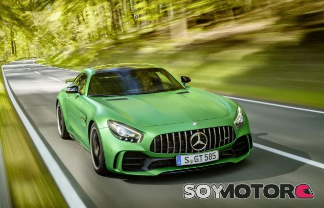 Mercedes AMG GT R: la bestia que ayudó a domar Lewis Hamilton - SoyMotor.com