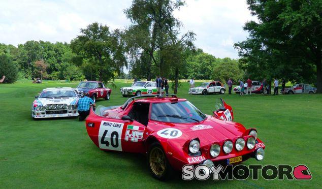 Con tanto Lancia de competición, el evento casi se convierte en un homenaje a la Scuderia Lancia - SoyMotor