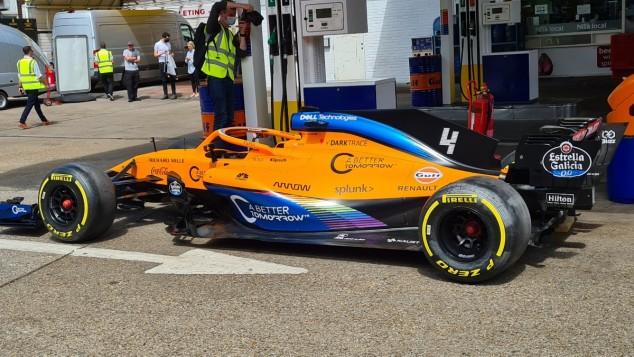 McLaren con el logo de Gulf Oil - SoyMotor.com