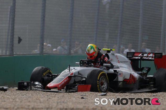 Así quedó el chasis de Esteban Gutiérrez - LaF1