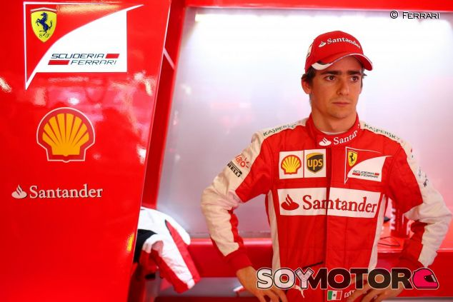 Esteban Gutiérrez con Ferrari - LaF1.es