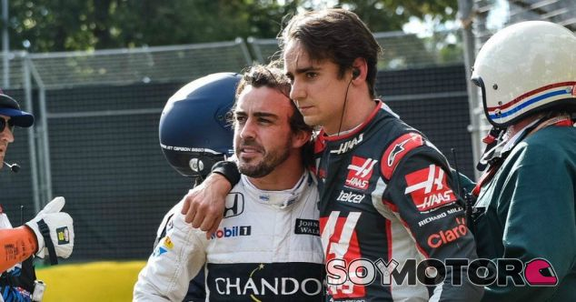 Gutiérrez se preocupó por Alonso nada más salir del monoplaza - LaF1
