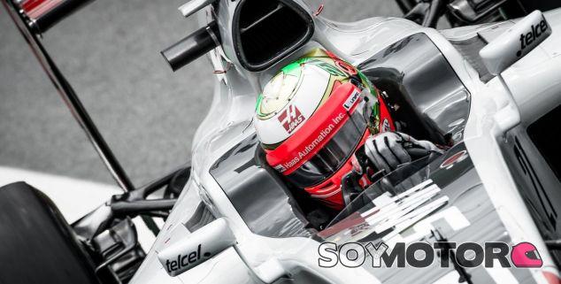 Gutierrez, durante el GP de Brasil - LaF1
