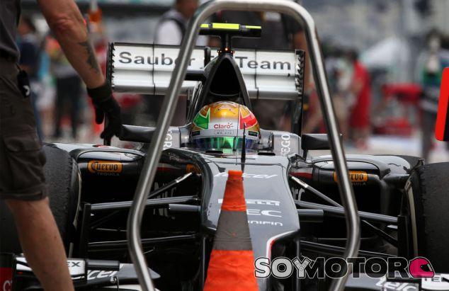 Esteban Gutiérrez en el Gran Premio de Malasia - LaF1