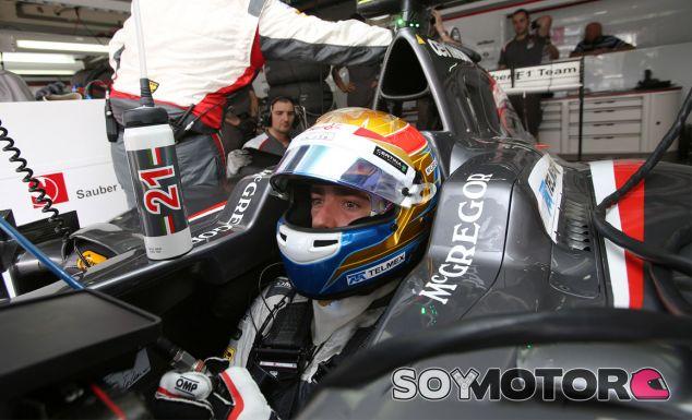 Esteban Gutiérrez en el Sauber C33 - LaF1