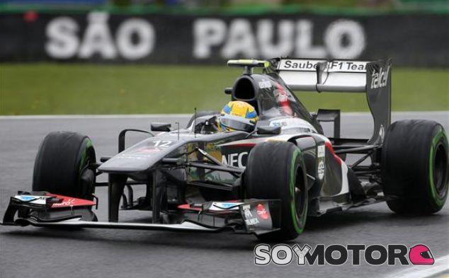 Sauber en el GP de Brasil F1 2013: Viernes