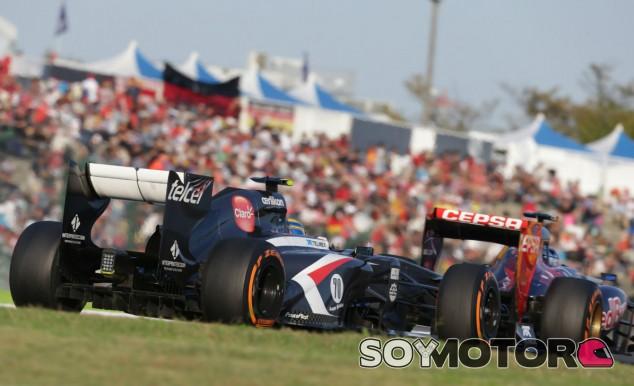 Esteban Gutiérrez lucha por los puntos en Suzuka - LaF1