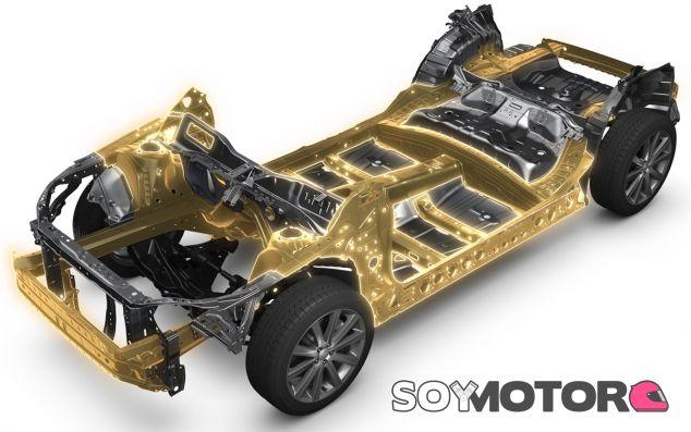 Sobre esta base se asentarán los próximos modelos de Subaru - SoyMotor