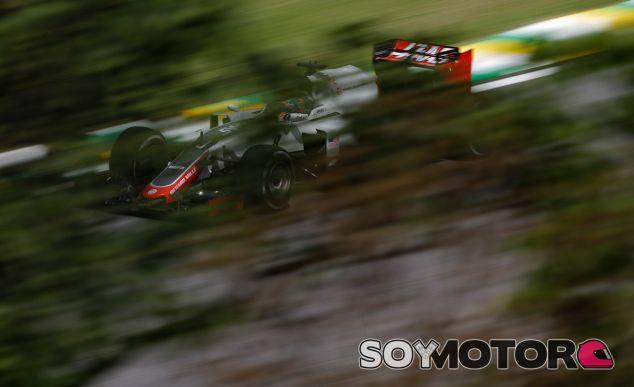 Romain Grosjean en el GP de Brasil 2016 - SoyMotor