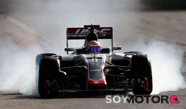 Romain Grosjean en Bakú - LaF1