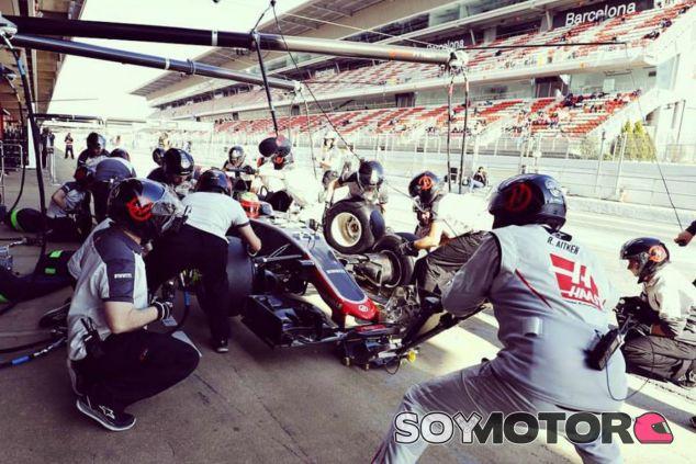 Haas completó una simulación de carrera con para incluida - LaF1